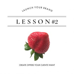Lesson 2: Create Offers Your Clients Want